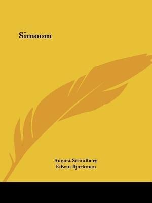 Simoom de August Strindberg