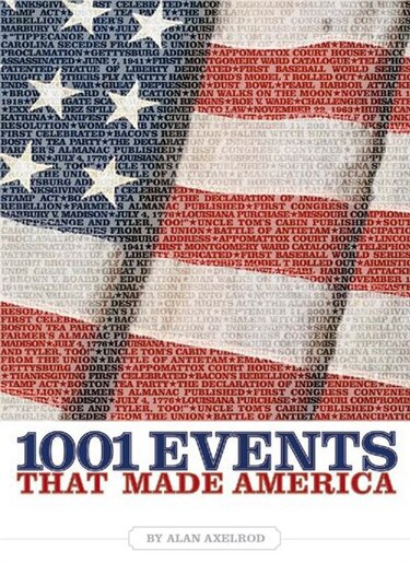 1001 Events That Made America: A Patriot's Handbook by Alan Axelrod