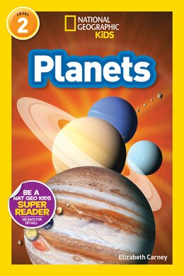 Book National Geographic Readers: Planets by Elizabeth Carney