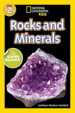Book National Geographic Readers: Rocks And Minerals by Kathleen Weidner Zoehfeld