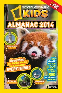 Book National Geographic Kids Almanac 2014, Canadian Edition by National Geographic Kids