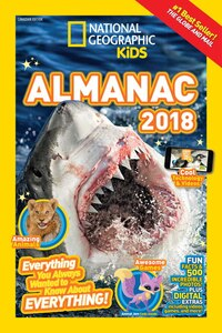 National Geographic Kids Almanac 2018, Canadian Edition