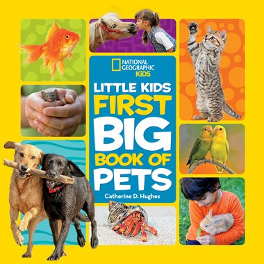 Little Kids First Big Book Of Pets by Catherine Hughes