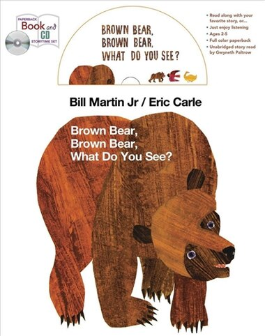 Brown Bear book and CD storytime set by Bill Martin
