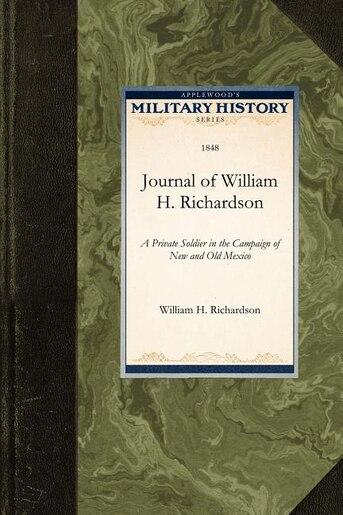 Journal Of William H. Richardson by William Richardson