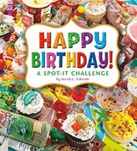 Happy Birthday!: A Spot-It Challenge, Book By Sarah L