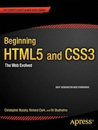 Beginning HTML5 and CSS3: The Web Evolved