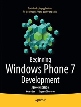 Book Beginning Windows Phone 7 Development by Henry Lee