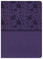 HOLMAN STUDY BIBLE: NKJV EDITION, PURPLE LEATHERTOUCH, INDEXED