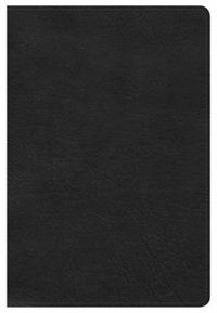 Kjv Large Print Personal Size Reference Bible, Black Leathertouch, Indexed by Holman Bible Staff