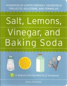 Book Salt Lemon Vinegar & Baking Soda by Shea Zukowski