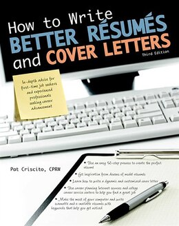 Book How to Write Better Résumés and Cover Letters by Patricia K. Criscito