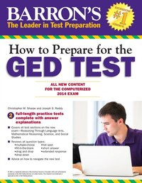 How to Prepare for the GED® Test: All New Content for the Computerized 2014 Exam