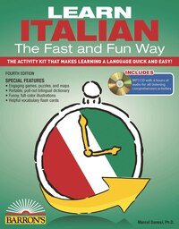 Learn Italian the Fast and Fun Way with MP3 CD: The Activity Kit That Makes Learning a Language…