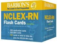 Barron's NCLEX-RN Flash Cards, 2nd Edition