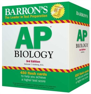 Barron's AP Biology Flash Cards de Deborah T. Goldberg
