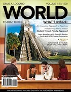 World, Volume 1 (with Review Cards And History Coursemate With Ebook, Wadsworth World History…