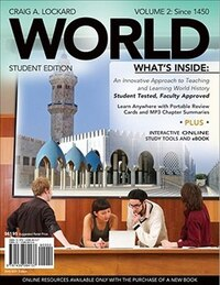 World, Volume 2 (with Review Cards And Coursemate, 1 Term (6 Months), Wadsworth World History…