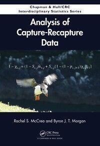Analysis of Capture-Recapture Data