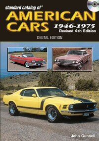 Standard Catalog Of American Cars 1946-1975 Cd