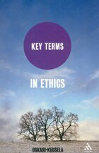Key Terms in Ethics