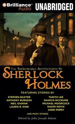 Book The Improbable Adventures of Sherlock Holmes by John Joseph Adams
