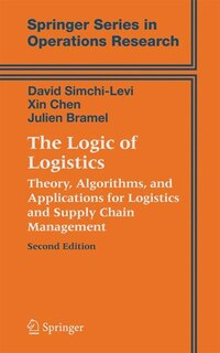The Logic of Logistics: Theory, Algorithms, and Applications for Logistics and Supply Chain…