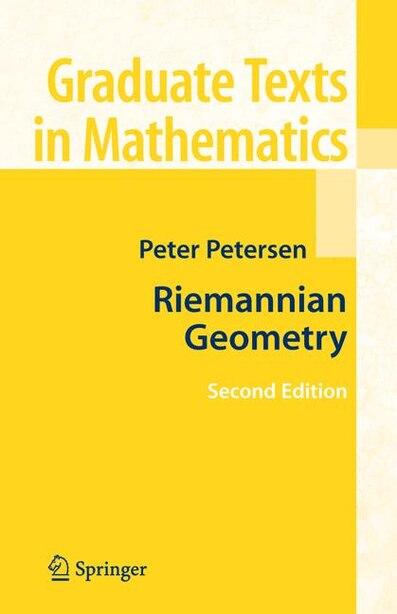 Riemannian Geometry by Peter Petersen