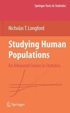 Studying Human Populations: An Advanced Course in Statistics