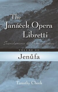 Jenufa: Translations And Pronunciation