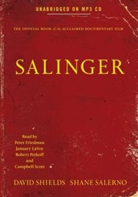 Book Salinger by David Shields