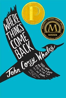 Book Where Things Come Back by John Corey Whaley