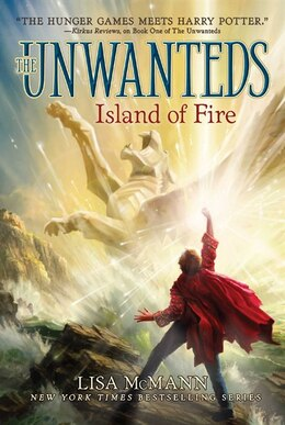 Book Island of Fire by Lisa McMann