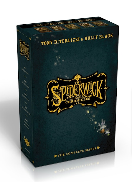 The Spiderwick Chronicles, the Complete Series: The Field Guide; The Seeing Stone; Lucinda's Secret; The Ironwood Tree; The Wrath of Mulgrath by Tony Diterlizzi