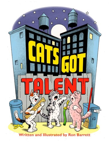 Cats Got Talent de Ron Barrett