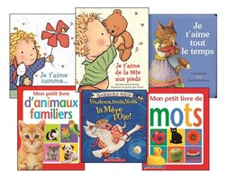 Baby's First French Library (Pre-K to K)