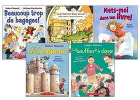 Laughs with Robert Munsch, in French!