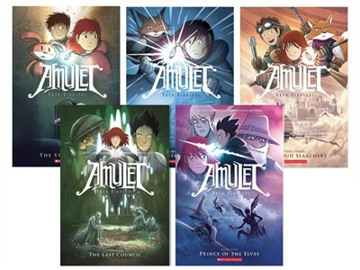 Amulet Collection (Books 1-5) by Kazu Kibuishi
