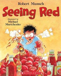 Book Seeing Red by Robert Munsch