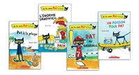 Pat le chat French Readers Pack (K to Grade 2)
