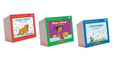 Mes premiers petits livres French Learn-to-Read Pack (Pre-K to Grade 1)