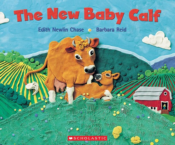 The New Baby Calf by Edith Newlin Chase