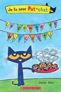 Je lis avec Pat le chat : La vente de biscuits de James Dean