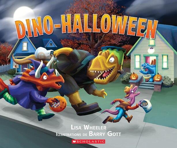 Dino-Halloween de Lisa Wheeler