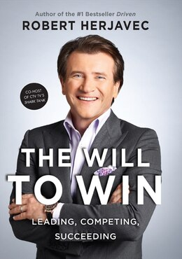 Book The Will To Win by Robert Herjavec