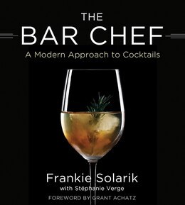 Book The Bar Chef by Frankie Solarik