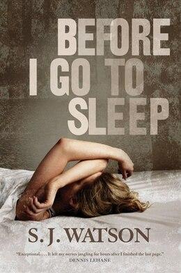 Book Before I Go to Sleep by S. J. Watson