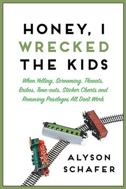 Book Honey, I Wrecked the Kids by Alyson Schafer