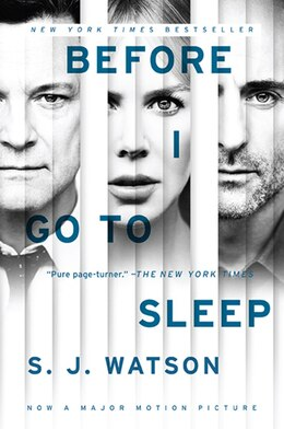 Book Before I Go To Sleep Movie Tie In by S. J. Watson