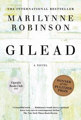 Book Gilead: A Novel by Marilynne Robinson